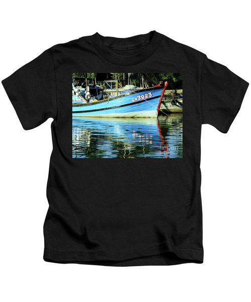 Hoi An Fishing Boat 01 Kids T-Shirt
