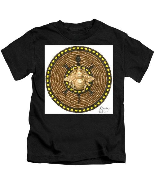 Honey Bee Turtle Kids T-Shirt