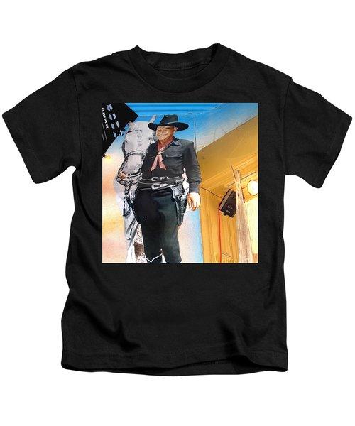 Hopalong Cassidy Cardboard Cut-out Tombstone Arizona 2004 Kids T-Shirt