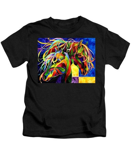 Horse Hues Kids T-Shirt