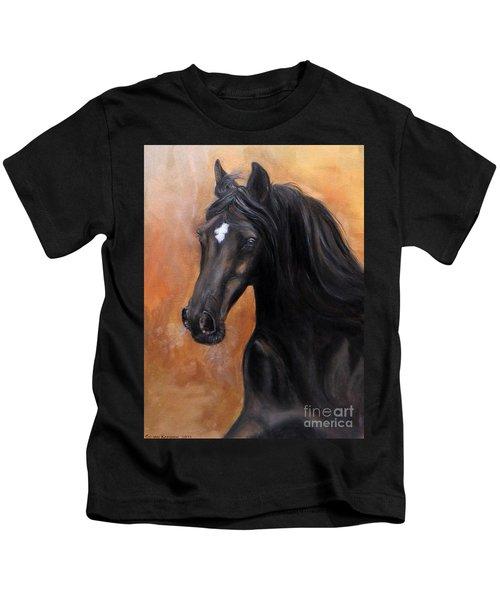 Horse - Lucky Star Kids T-Shirt