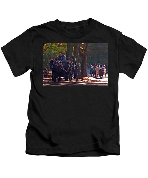 Horse Play Kids T-Shirt