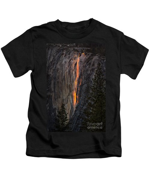 Horsetail Falls Kids T-Shirt