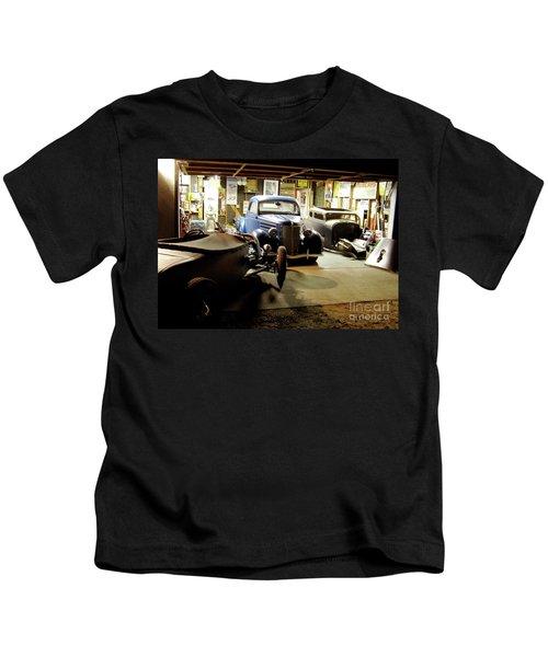 Hot Rod Garage Kids T-Shirt