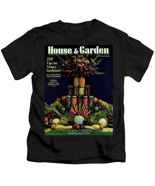 House And Garden Cover Featuring Fruit Kids T-Shirt