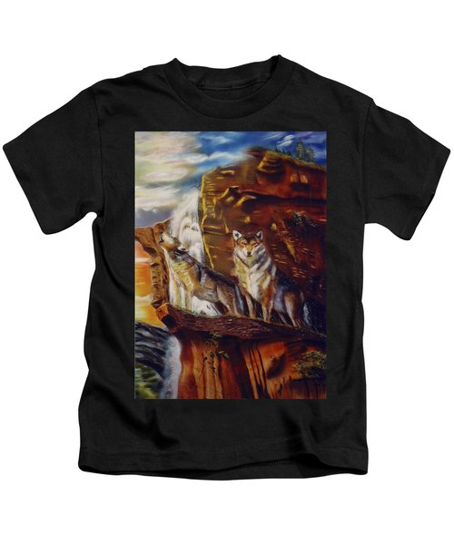 Howling For The Nightlife  Kids T-Shirt