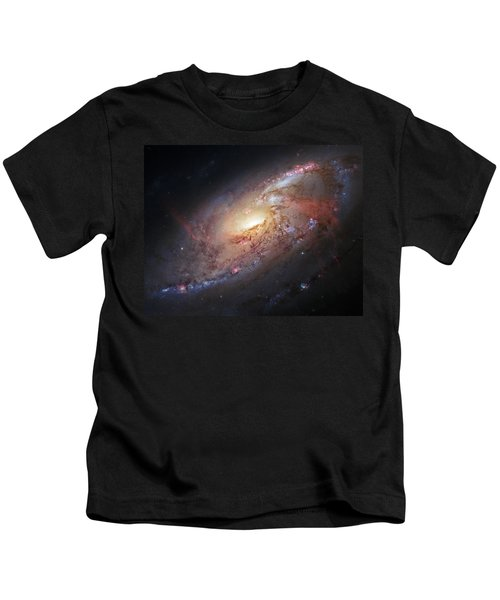 Hubble View Of M 106 Kids T-Shirt