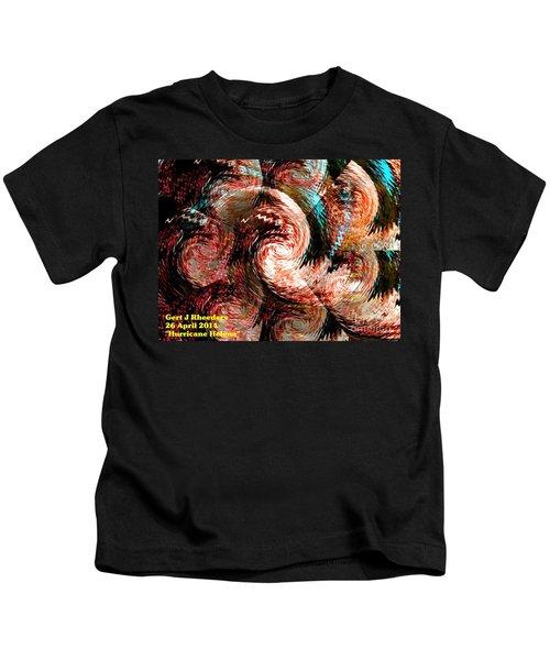Hurricane Helena. H A Kids T-Shirt