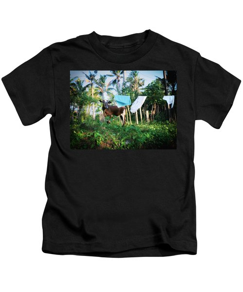 I Got A Fever And The Only Prescription Is More Cowbell Kids T-Shirt