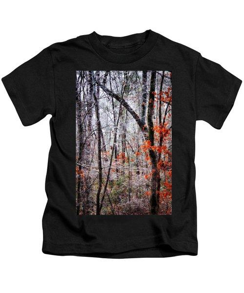 Ice Trees Kids T-Shirt
