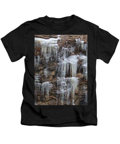 Icicle Cliffs Kids T-Shirt