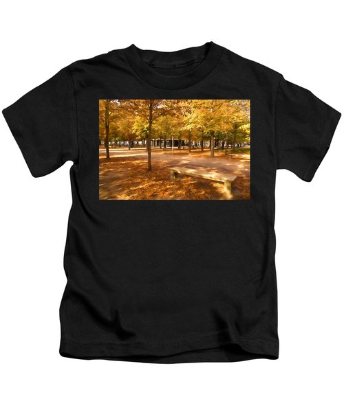 Impressions Of Paris - Tuileries Garden - Come Sit A Spell Kids T-Shirt