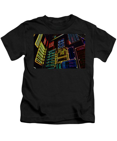 In A Neon-box Kids T-Shirt