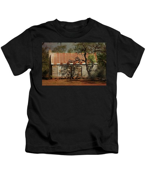 In The Shadow Of Time Kids T-Shirt