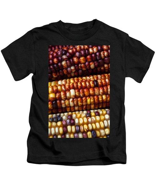 Indian Corn Harvest Time Kids T-Shirt