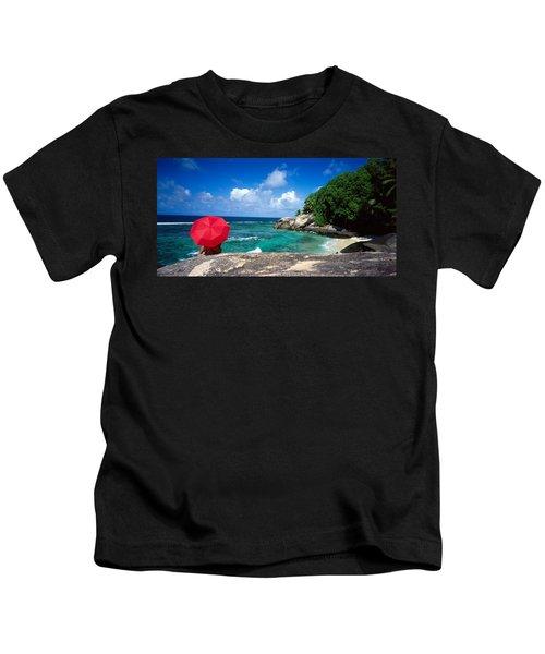 Indian Ocean Moyenne Island Seychelles Kids T-Shirt