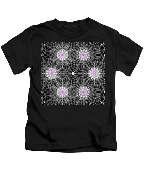 Infinity Grid Six Kids T-Shirt