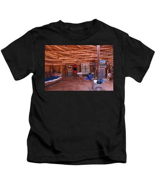 Inside A Navajo Home Kids T-Shirt