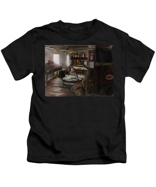 Inside The Flour Mill Kids T-Shirt