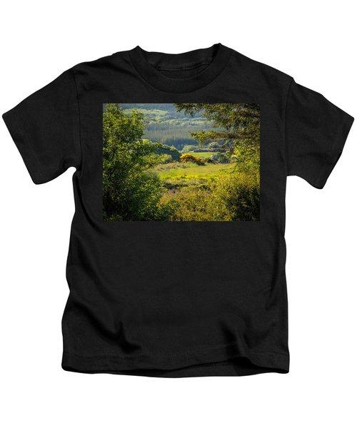 Irish Countryside In Spring Kids T-Shirt