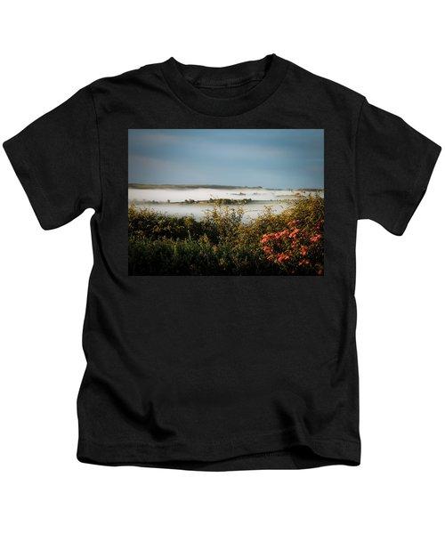Irish Mist Over Lissycasey Kids T-Shirt