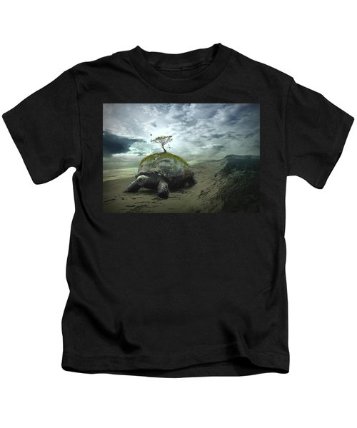 Iroquois Creation Story Kids T-Shirt