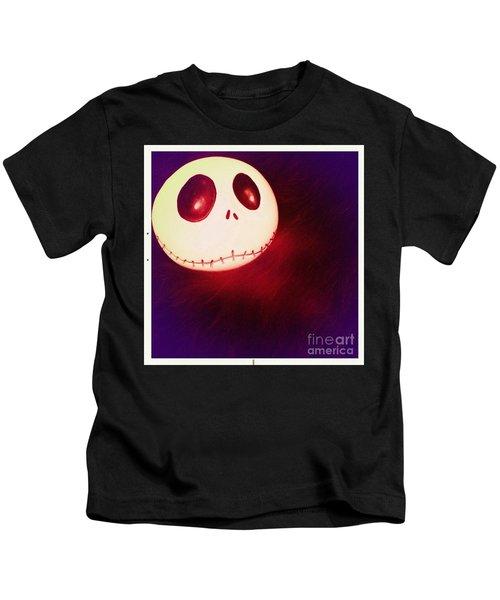 Jack Skellington Glowing Kids T-Shirt