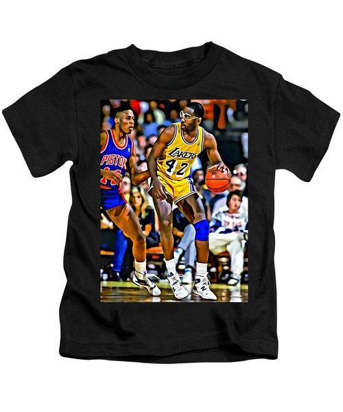 James Worthy Kids T-Shirt