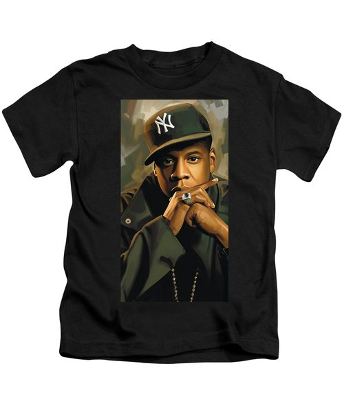 Jay-z Artwork 2 Kids T-Shirt