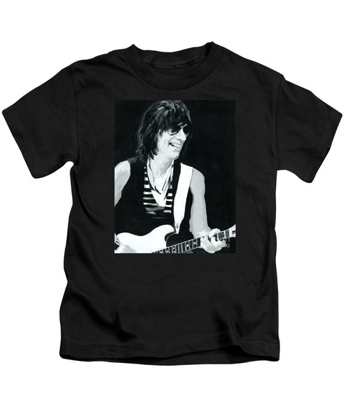 Jeff Beck-emotion And Commotions Kids T-Shirt