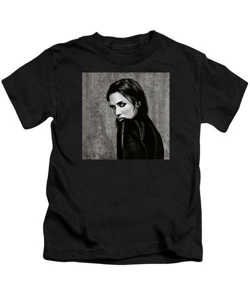 Jennifer Connelly Painting Kids T-Shirt