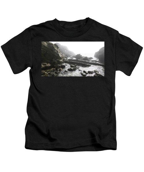 Jesus Christ- Walking Among Angel Mist Kids T-Shirt