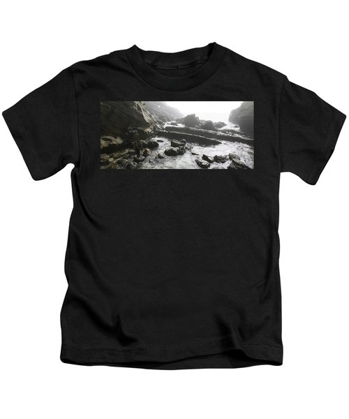 Jesus Christ- Walking With Angels Kids T-Shirt
