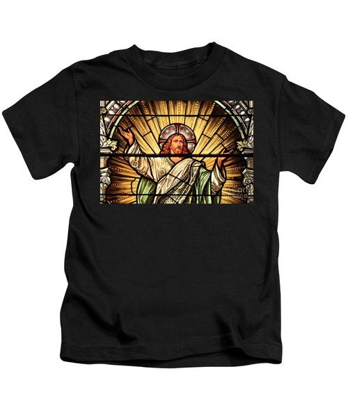 Jesus - The Light Of The Wold Kids T-Shirt