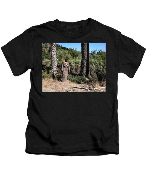 Jesus- Walk With Me Kids T-Shirt