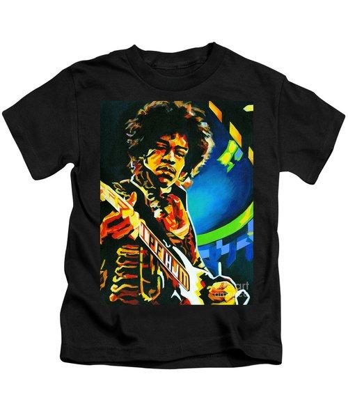 Bold As Love. Jimi Hendrix  Kids T-Shirt