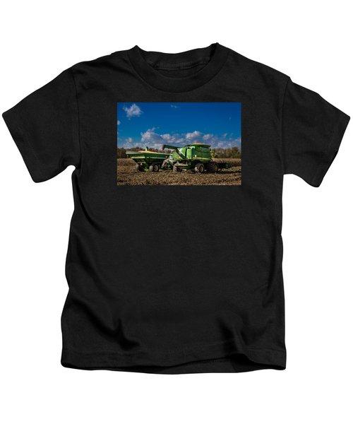 John Deere Combine 9770 Kids T-Shirt