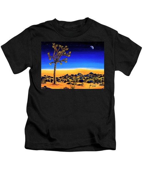 Joshua Tree Nightfall Kids T-Shirt