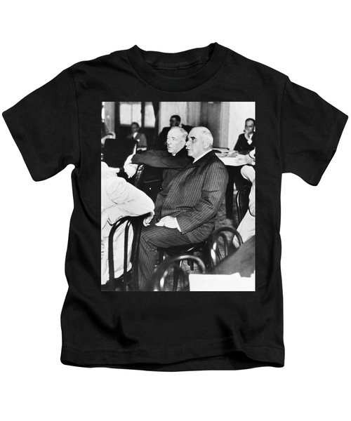 J.p. Morgan At Senate Inquiry Kids T-Shirt
