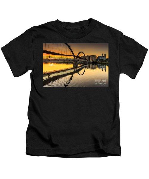 Jubia Bridge Naron Galicia Spain Kids T-Shirt