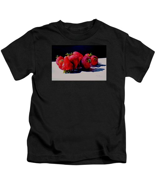 Juicy Strawberries Kids T-Shirt