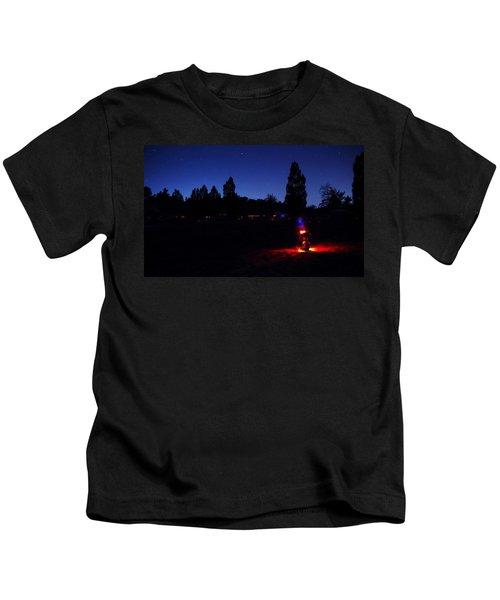 Julian Night Lights 2013 Kids T-Shirt