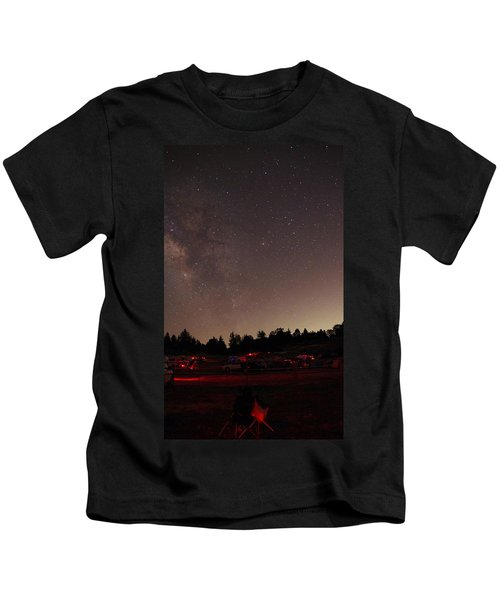 Julian Night Sky Milky Way Kids T-Shirt