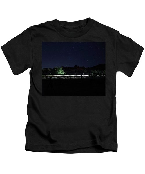 Julian Night Sky Kids T-Shirt