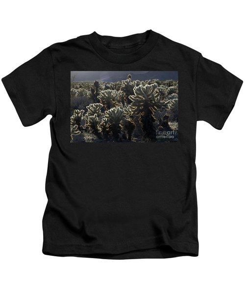 Jumping Cholla Kids T-Shirt