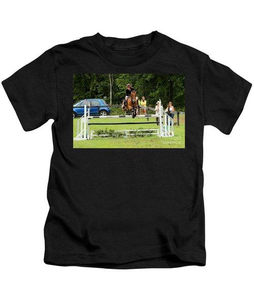 Jumping Eventer Kids T-Shirt