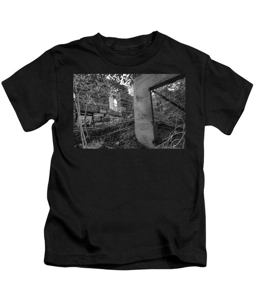 Just Left There Jerome Black And White Kids T-Shirt