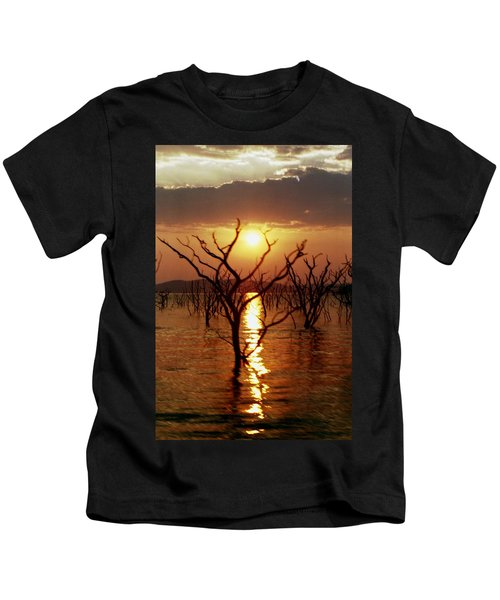 Kariba Sunset Kids T-Shirt