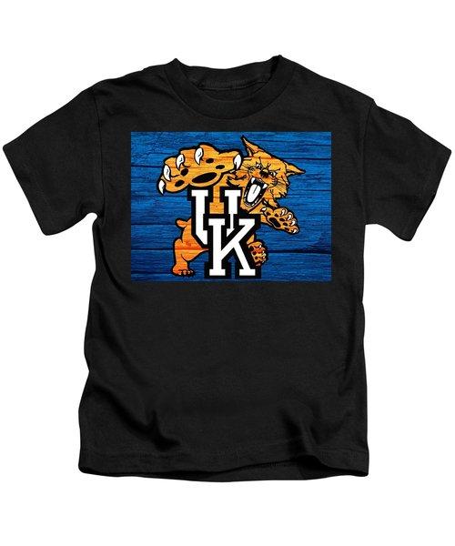 Kentucky Wildcats Barn Door Kids T-Shirt