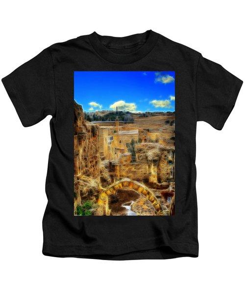 Peaceful Israel Kids T-Shirt